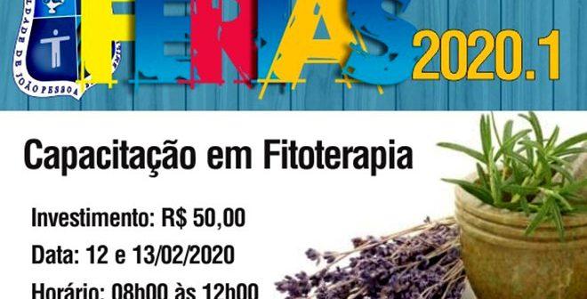 """Minicursos de Férias 2020.1 –  Capacitação em Fitoterapia """"Professora Graça Silva"""""""